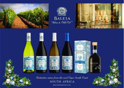 Baleia Wines and Olive Oil